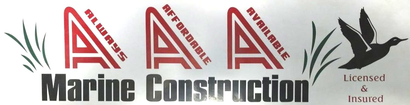 AAA Marine Construction Logo