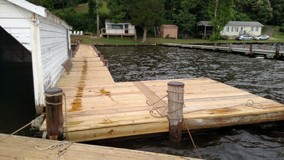 New Decking on Pier